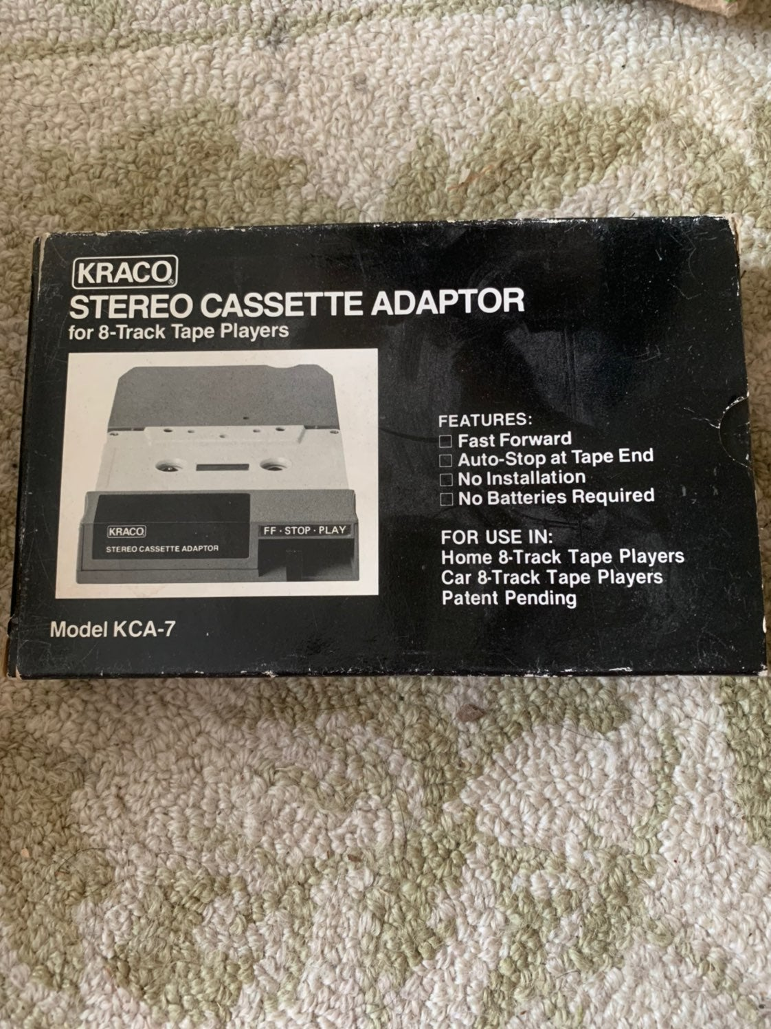 Stereo cassette adapter
