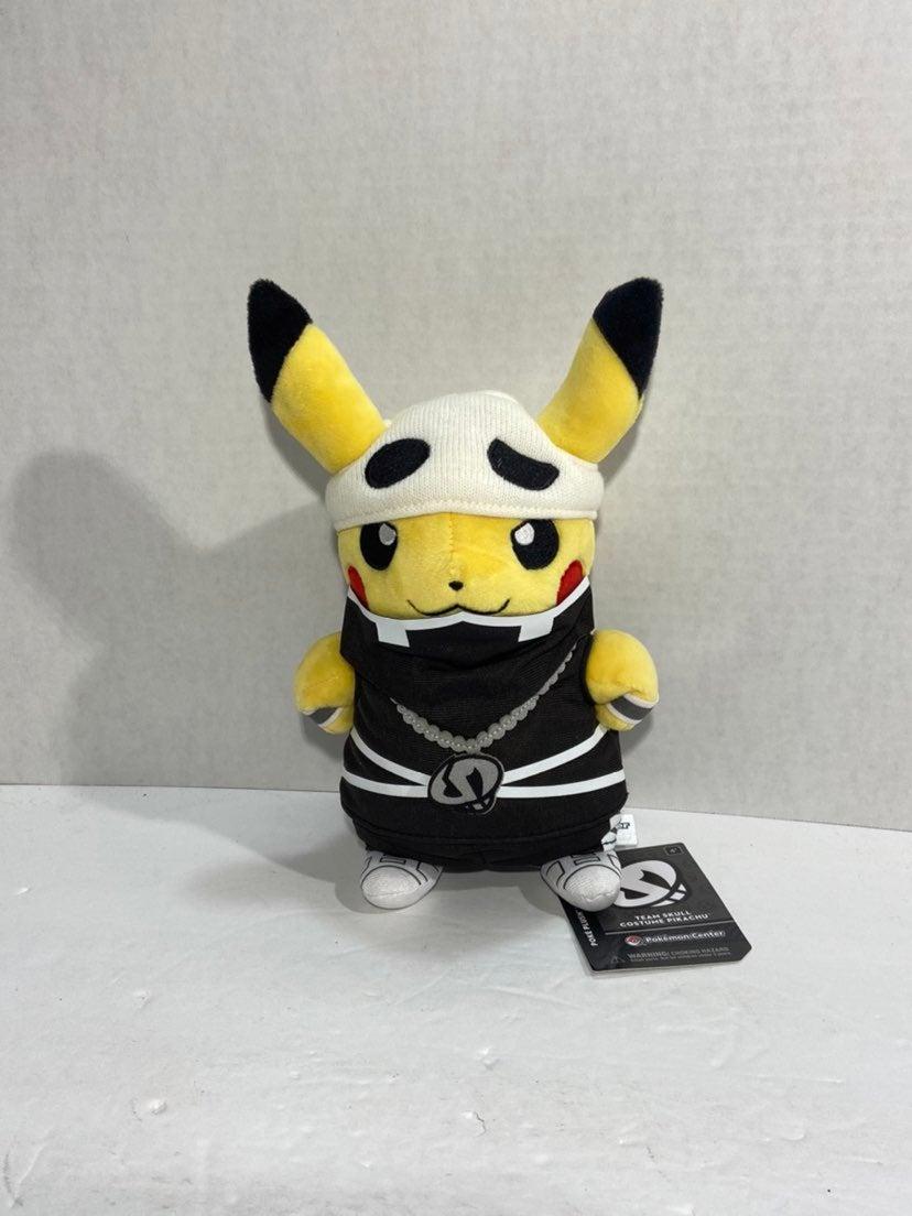 Team Skull Costume Pikachu Poké Plush