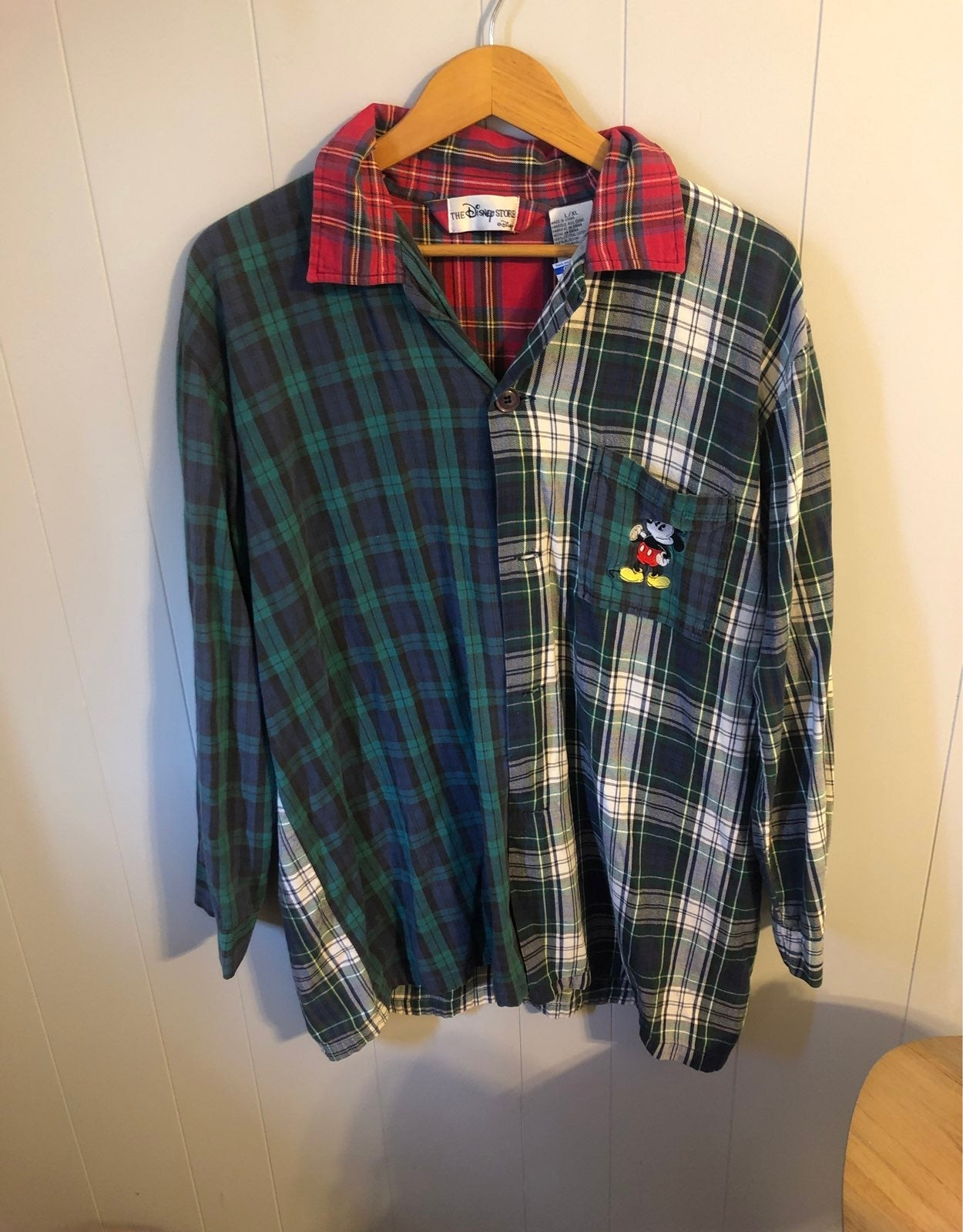 Vintage Mickey Mouse Flannel