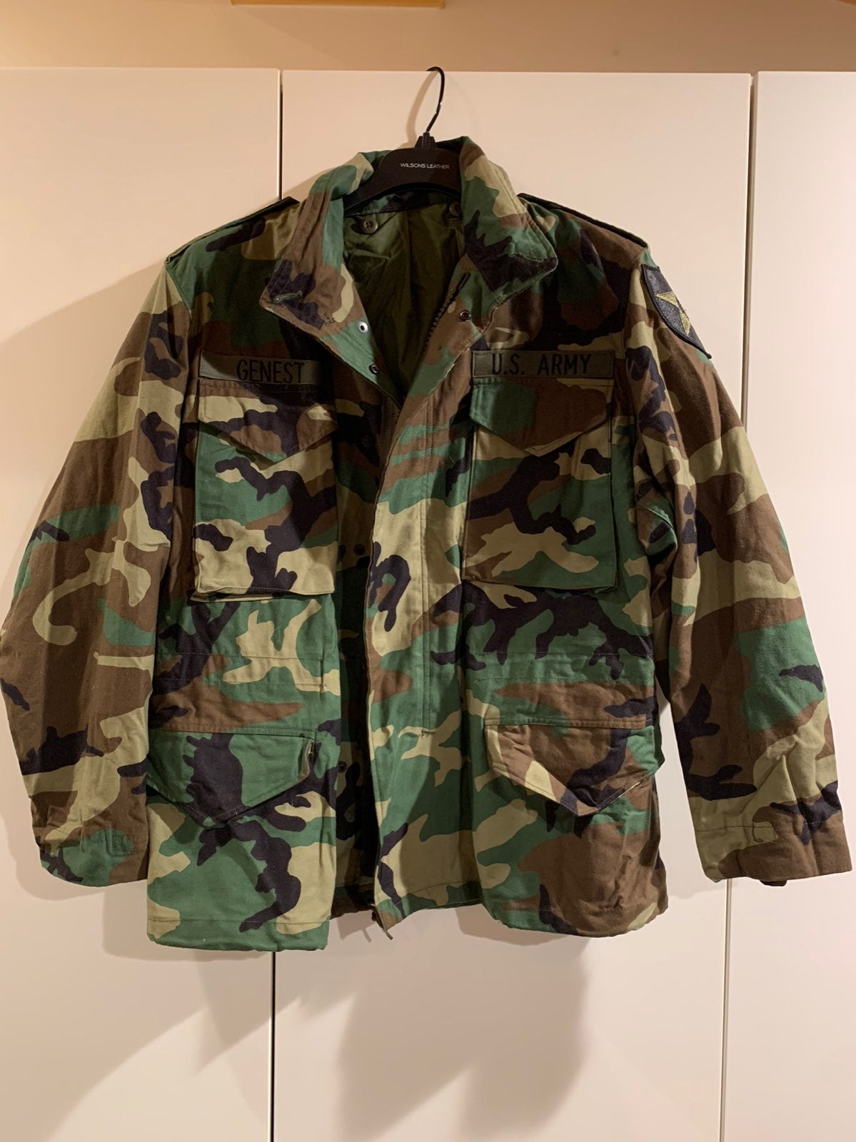 US ARMY BDU COLD WEATHER JACKET