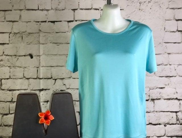 Sz M/Lauren Ralph Lauren/Top/Silk/Cotton