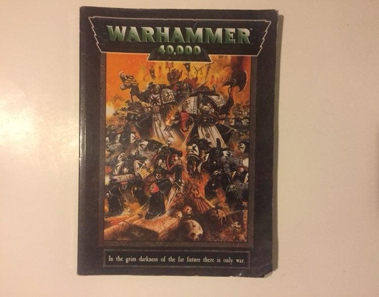 Warhammer 40K Workshop Games Rule Book