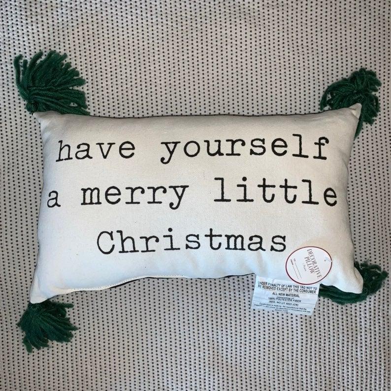Target BP christmas Pillow