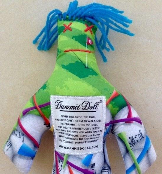 Dammit Doll Sports Golf Tees Gag Gift