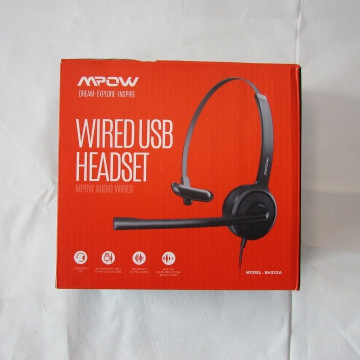 MPOW Wired USB Headset BH323A