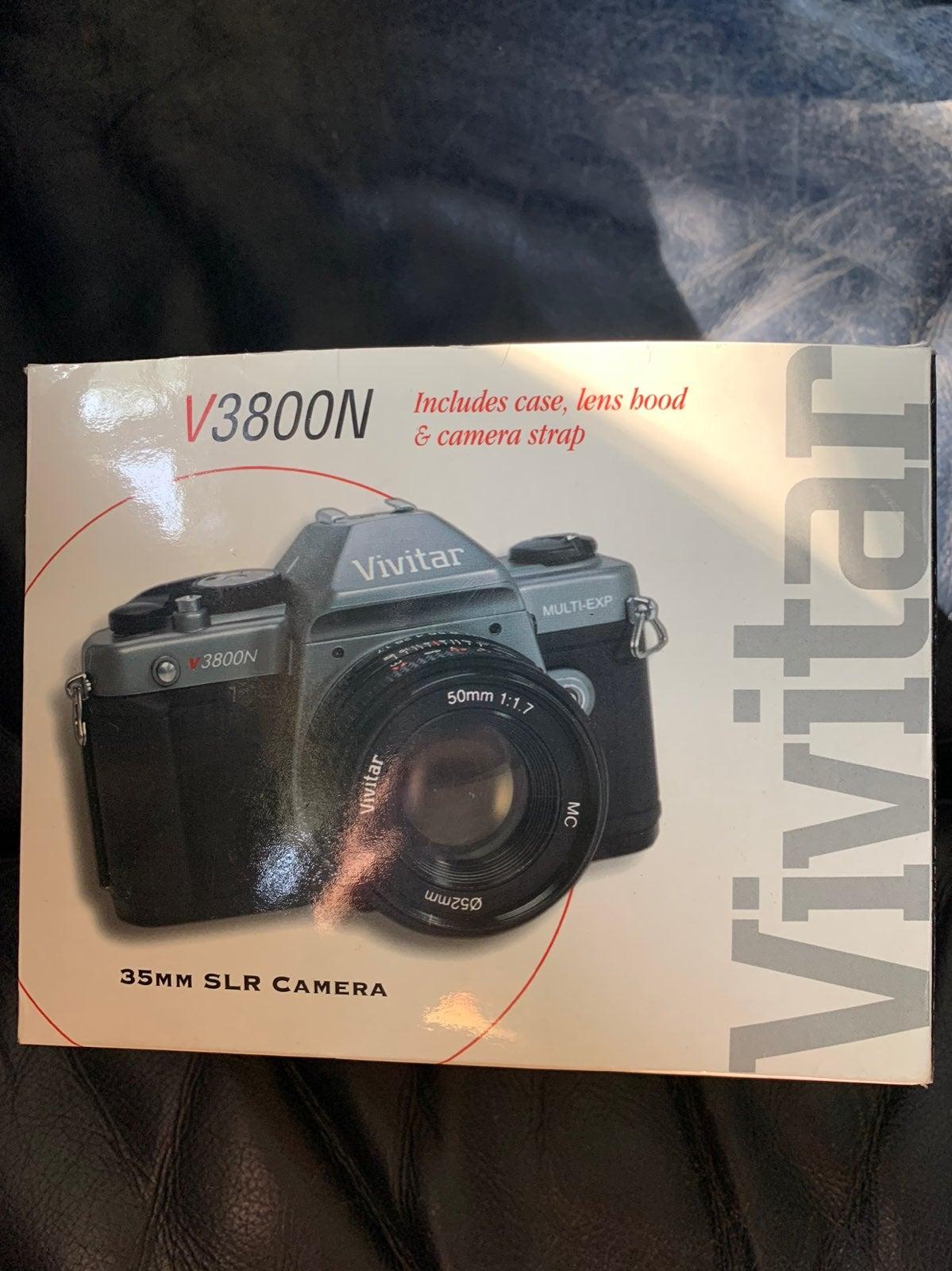 Vivitar 3800n 35mm SLR Camera