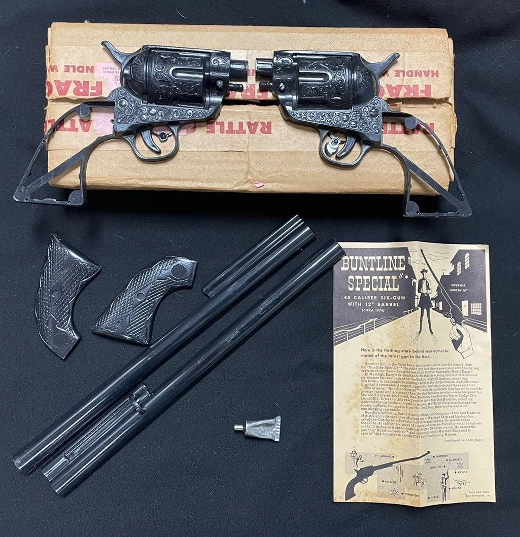 Buntline special 50s xrare earp toy gun