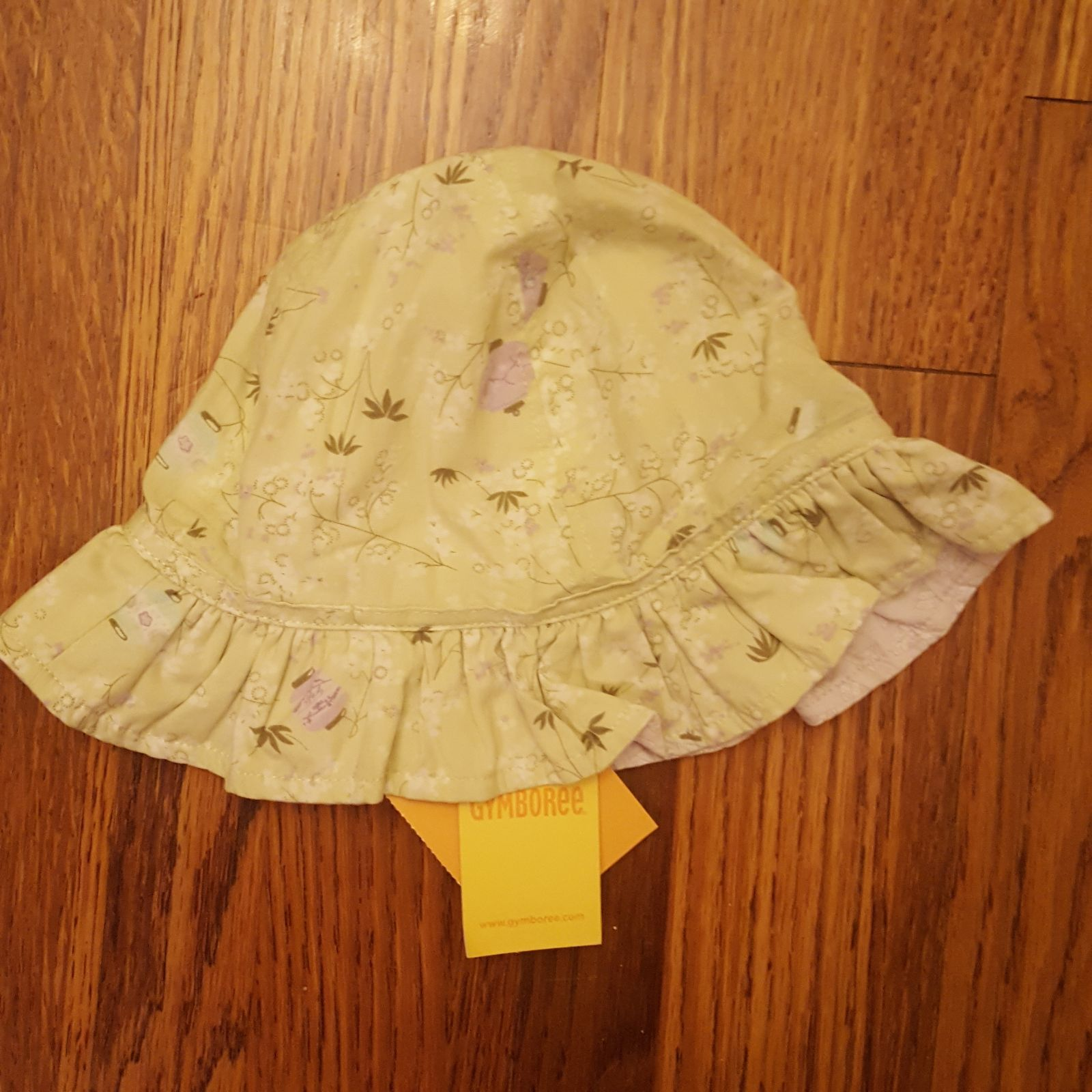 NWT Gymboree Reversible Baby Beach Hat