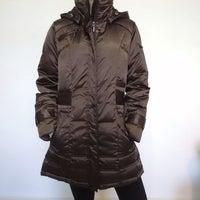 1721d066c Coffee Fleece Lined Down Puffer Coat
