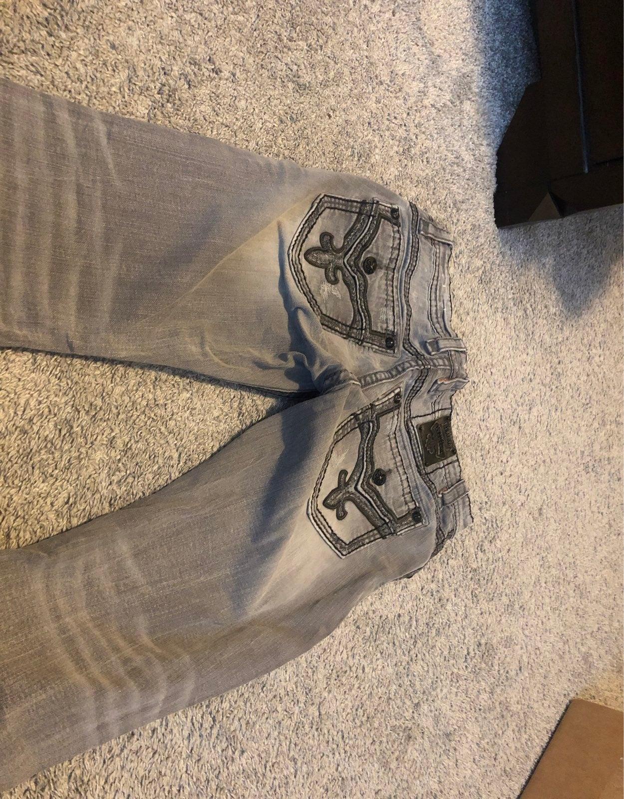 mens Rock Revival jeans