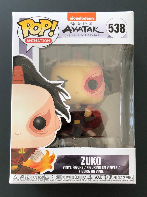 Funko Pop! Avatar Last Airbender - Zuko