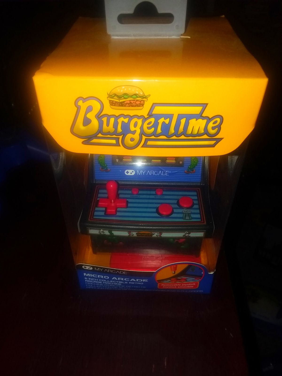 BurgerTime Mini Arcade Machine