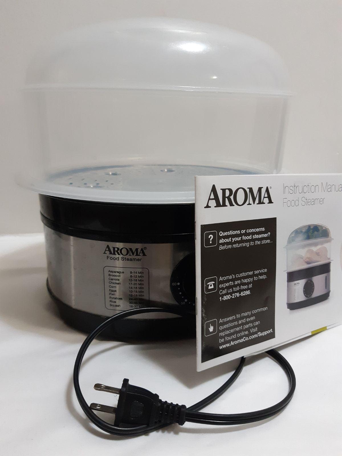 Aroma Housewares 5-Quart Food Steamer, S