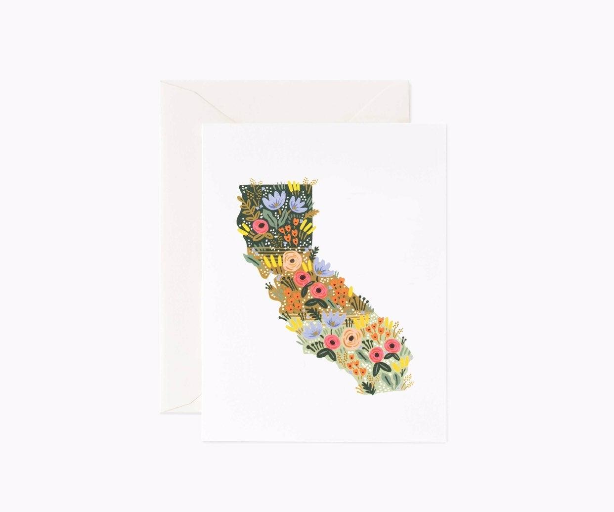 California Wildflowers Cards- Set