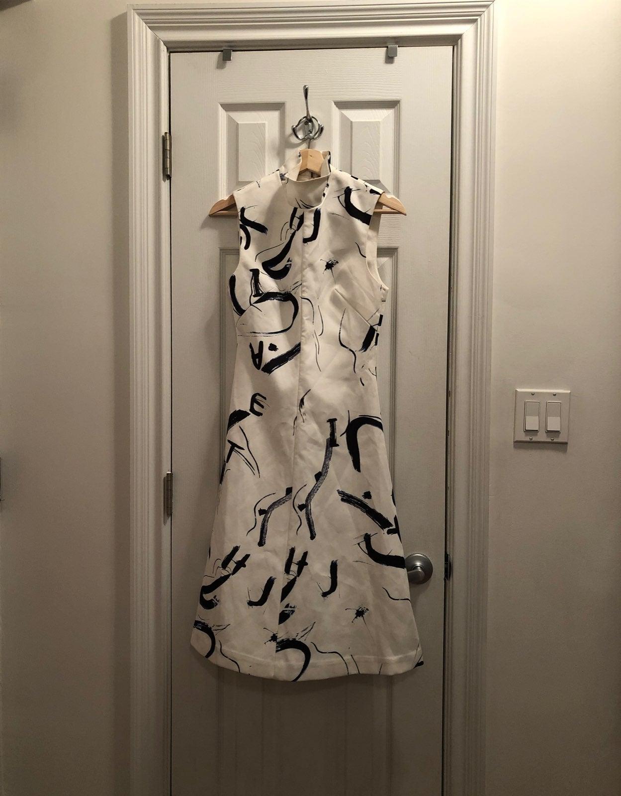 New White Acler Dress