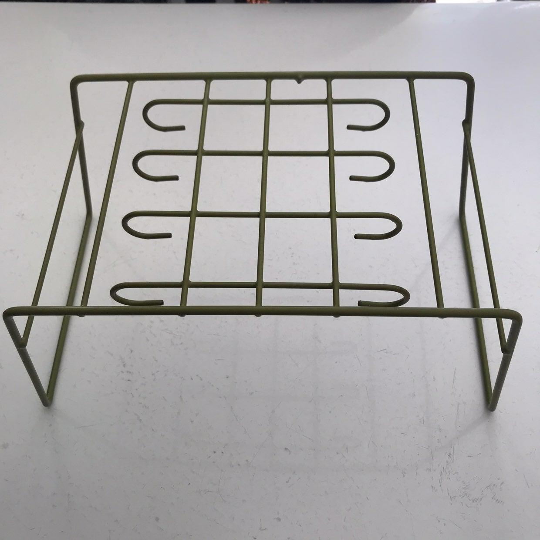 Vintage Cupboard Plate Organizer