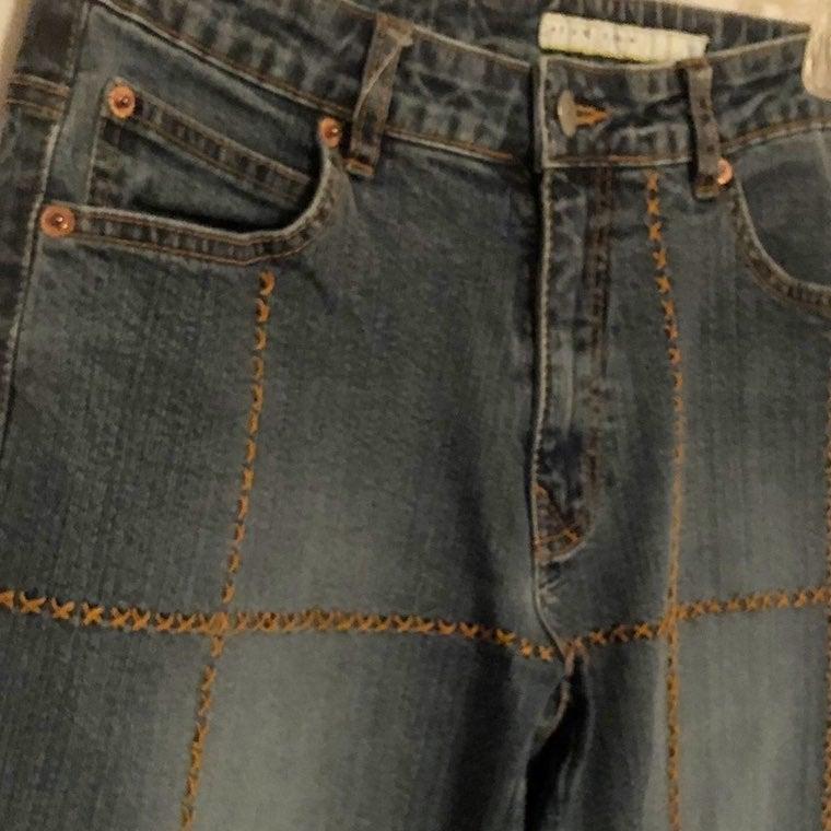 Women's Azzure Denim Boho Jeans, Size 27