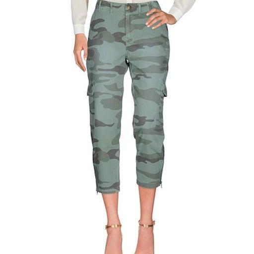 Current/Elliott Camo Cropped Pants