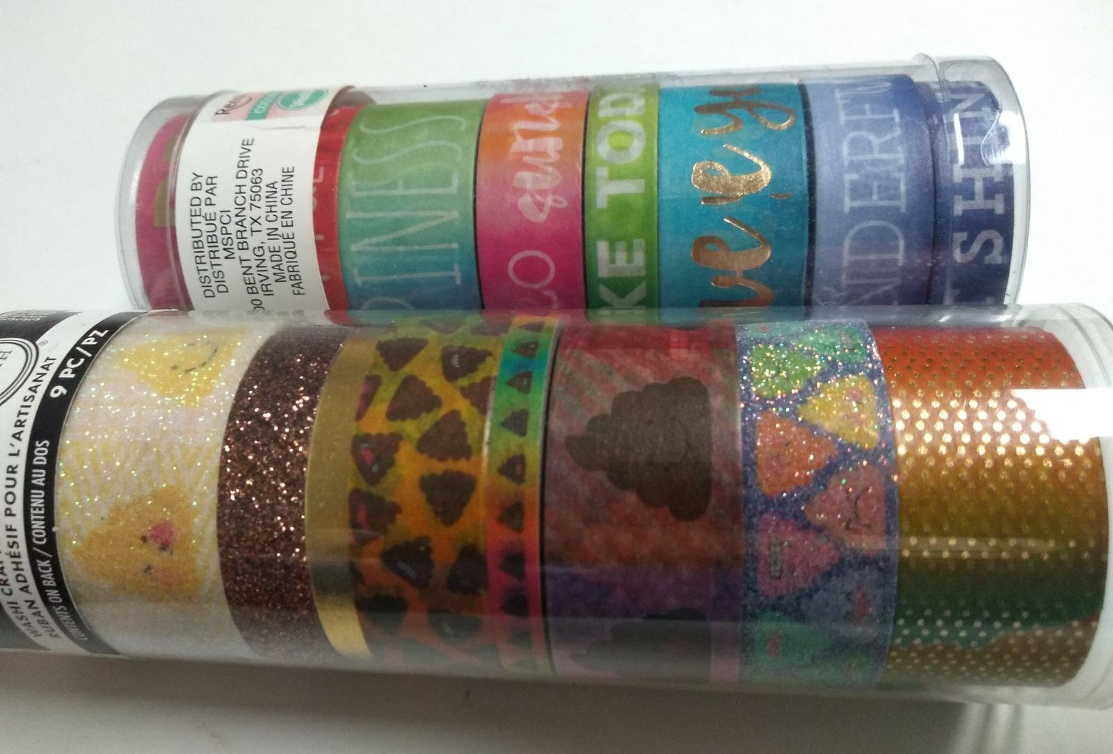 Lot 2 Recollections Craft Washi Tape