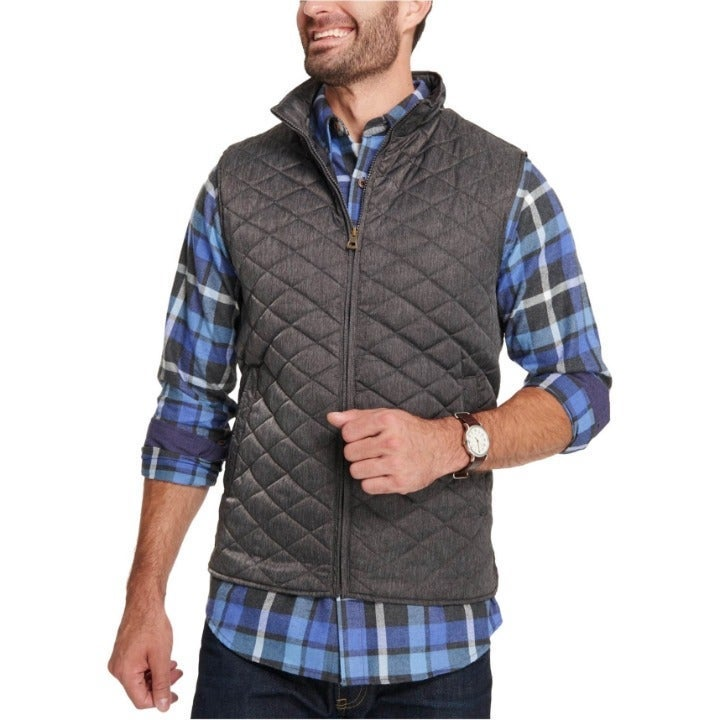 Weatherproof Vintage Men's Diamond Vest