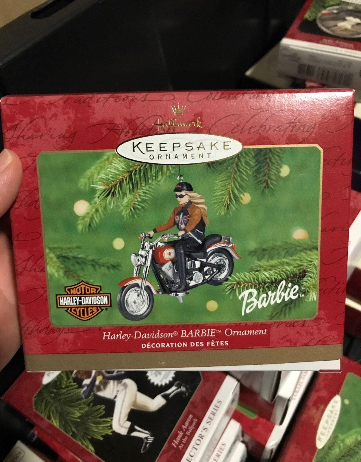 Harley-Davidson barbie biker chick New