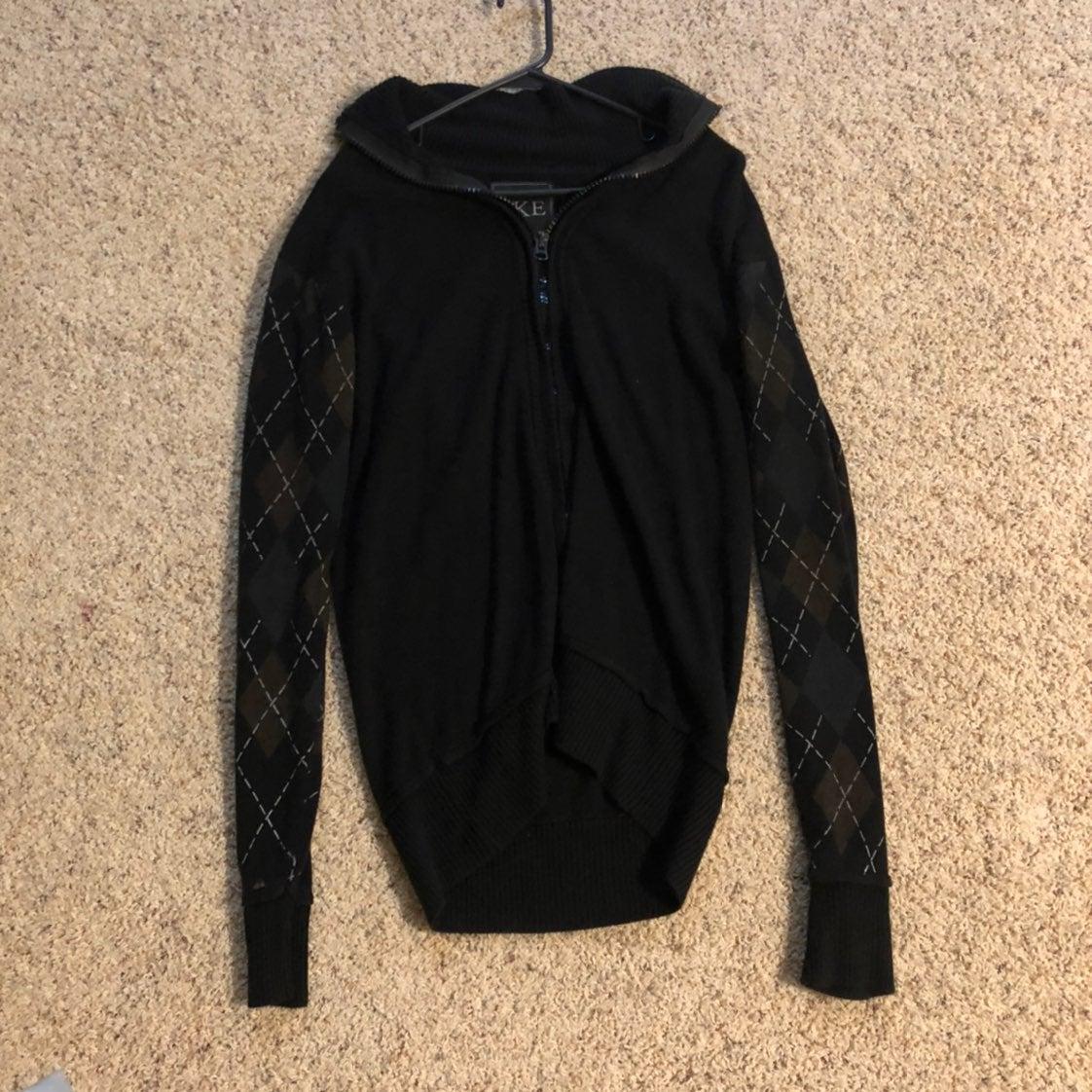 Mens Buckle Black Jacket