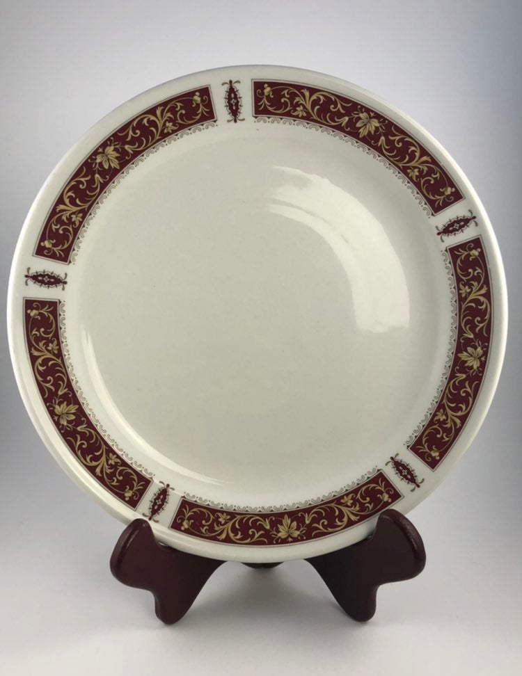Royal Doulton Red Marina Dinner Plate