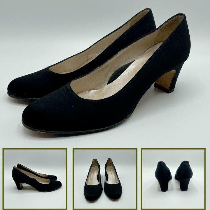 Taryn Rose Pumps Round Toe High Heels