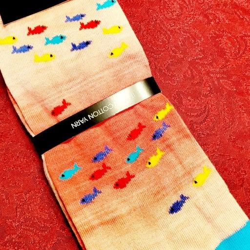 Cremieux Tropical Fish Socks Italian Men