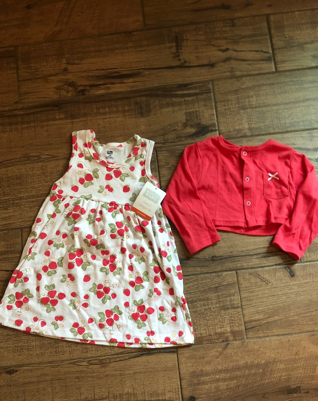 Baby Girl 18 Month Dress Set NWT