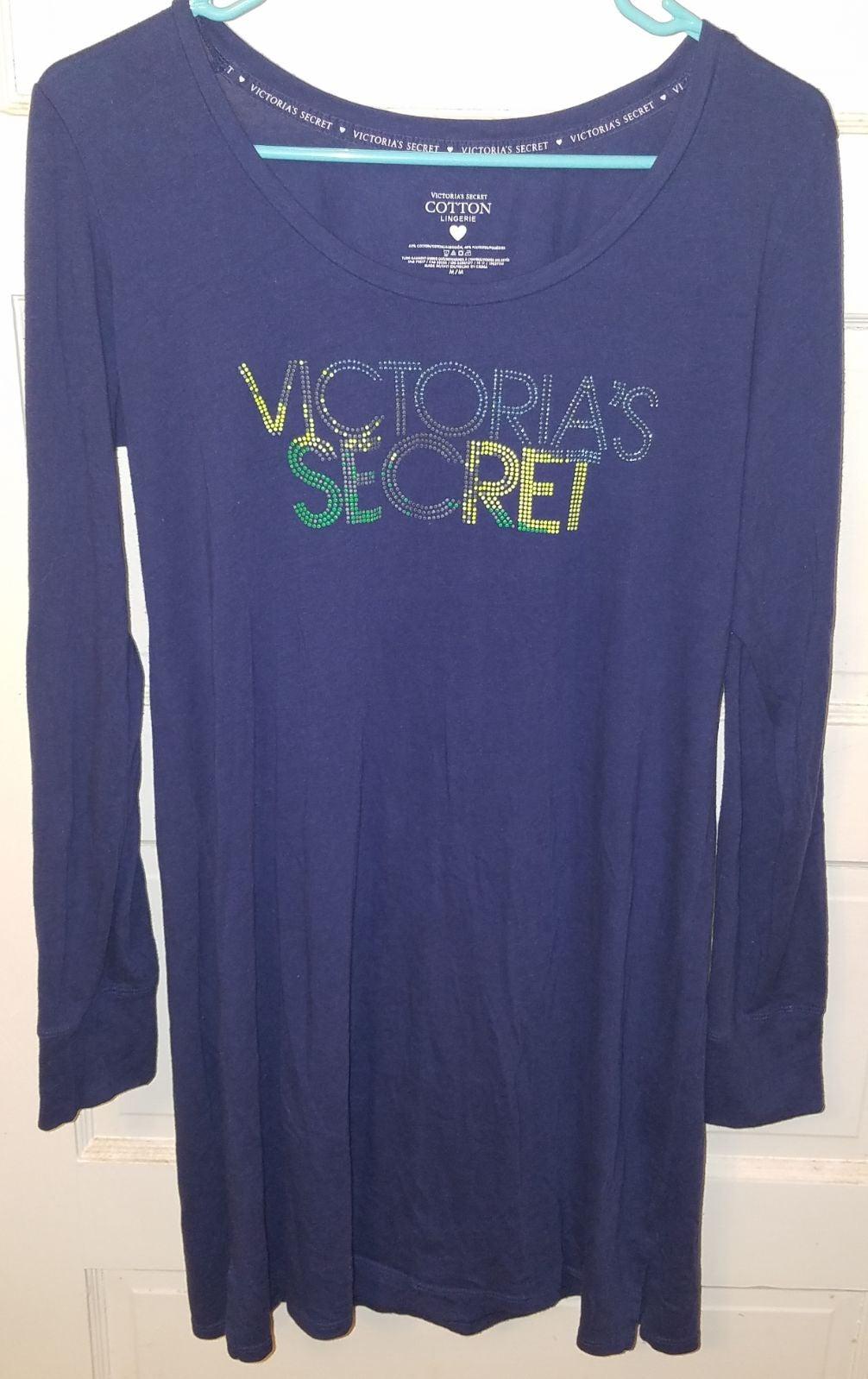 Victoria's Secret Cotton Sleep Shirt siz