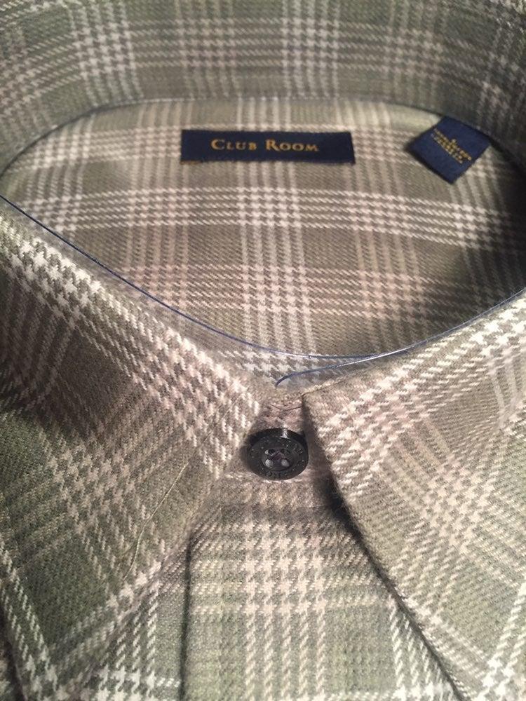 Macy's men's Club Room Flannel Shirt