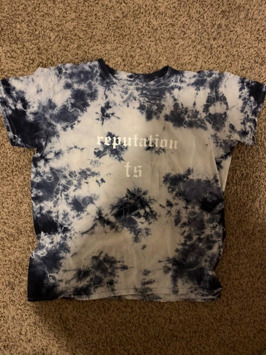 Repuation taylor swift tye dye shirt