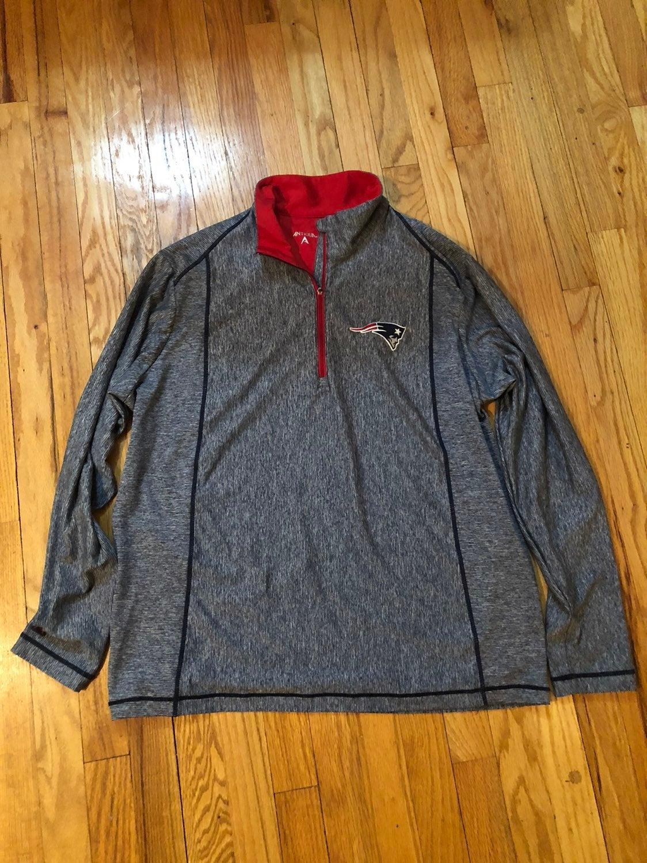 Antigua New England Patriots 1/4 zip pul