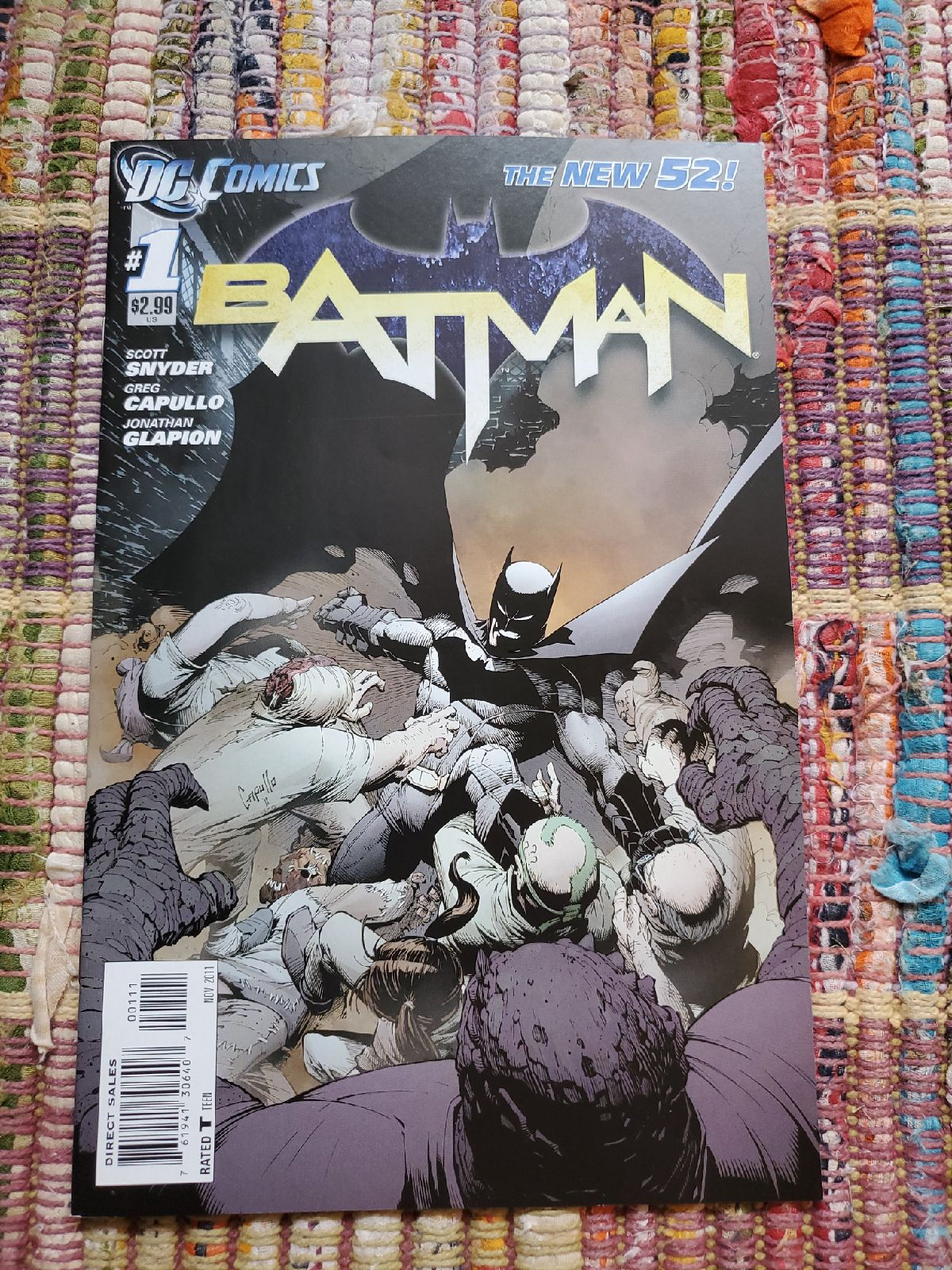 Batman #1 11/11 New 52