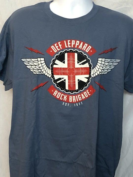 Def Leppard-2018 Tour-LG T-shirt