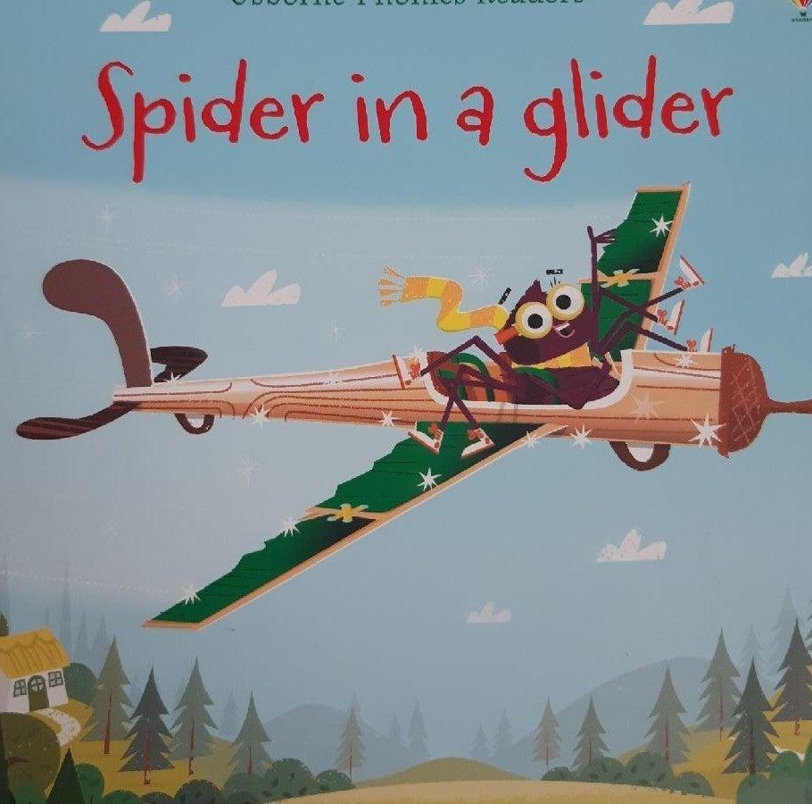 Spider in a glider children's book