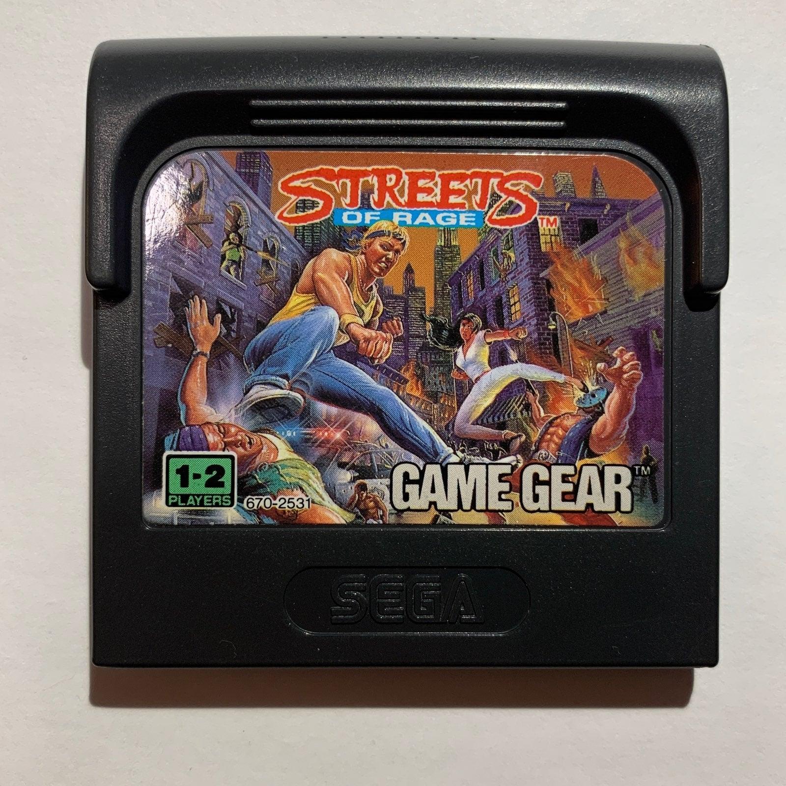 Streets of Rage on Sega Game Gear