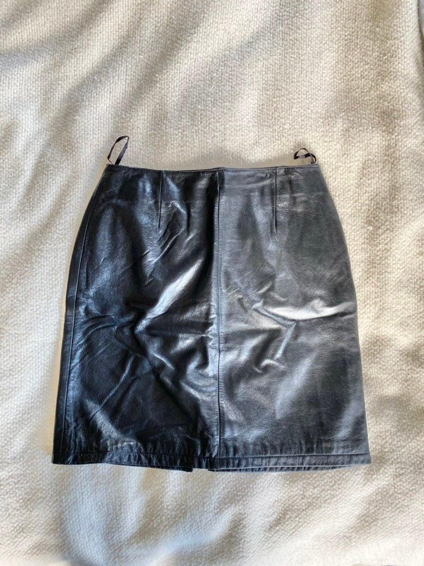 Wilsons Leather Vintage Skirt
