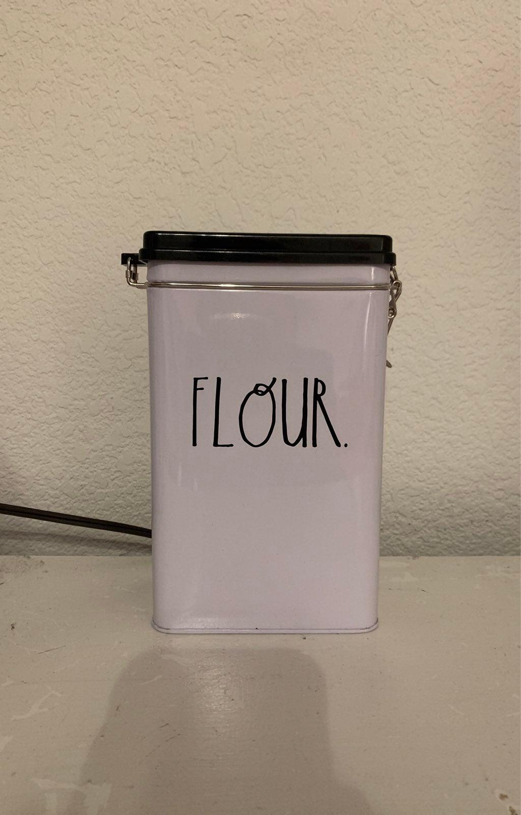 Rae Dunn Flour Tin