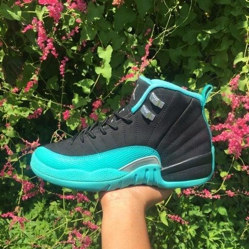 Jordan 12 Hyper Jade 6Y