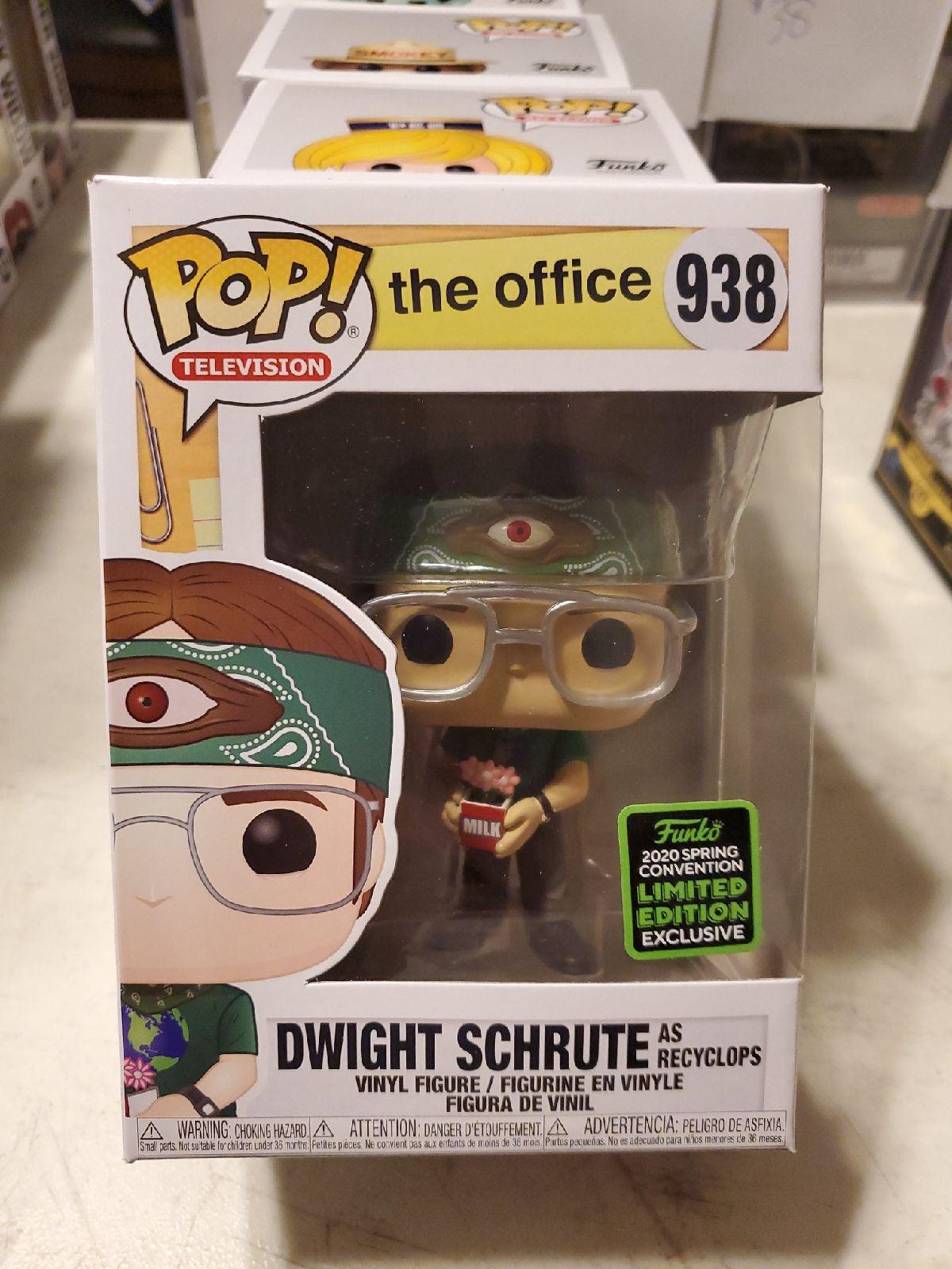 Dwight Schrute Recyclops Funko Pop