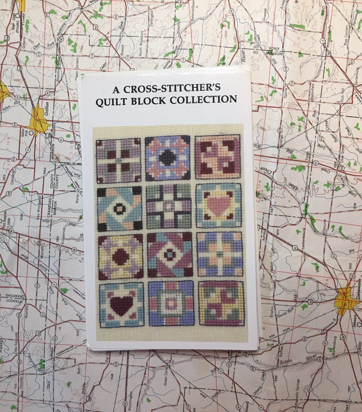 Cross-stitcher's Quilt Block Collection