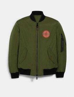 Coach MBJ Bomber Jacket Naruto