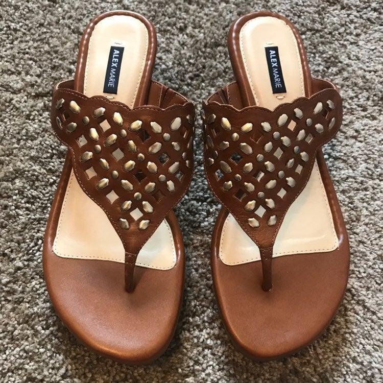 Kinley Wedge Sandals