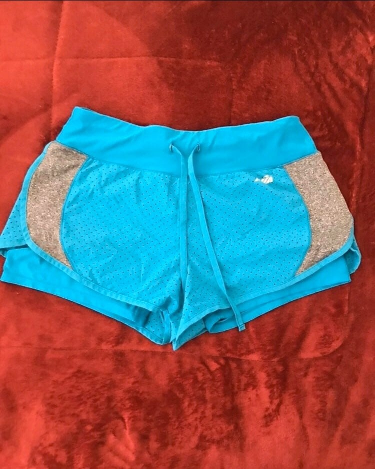 Speed sport shorts sky blue size M for w