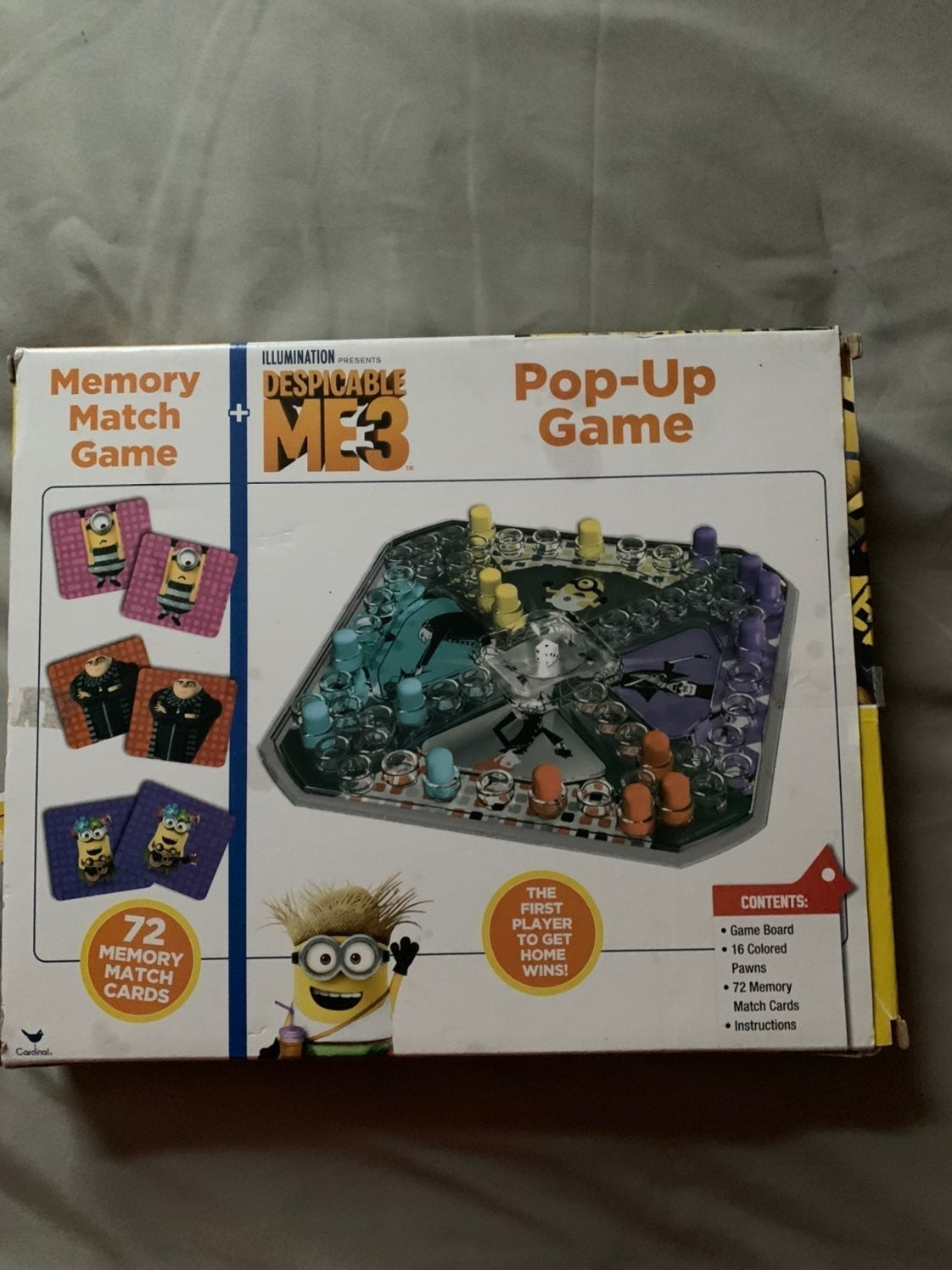 Pop up game Despicable M3 game