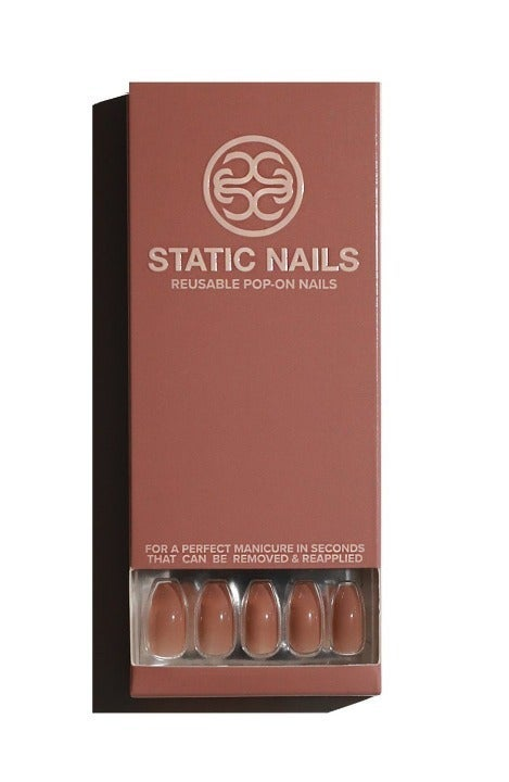 Static Nails Toasted Sugar