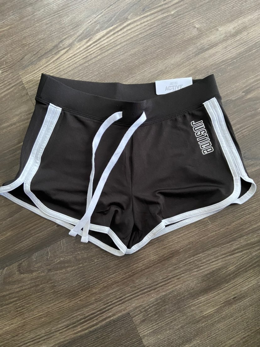 Girl's Justice Dolphin Shorts - size 10