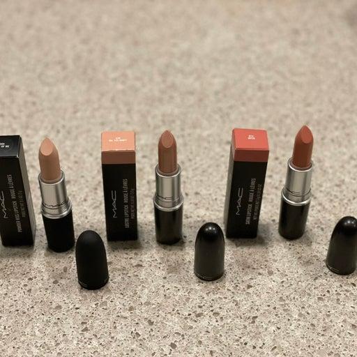 MAC Lipstick Bundle (3pc) for Samantha Pepper